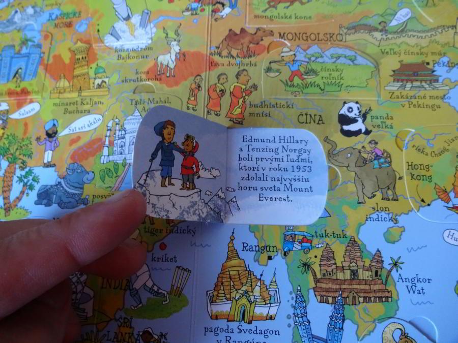hravý atlas pre deti