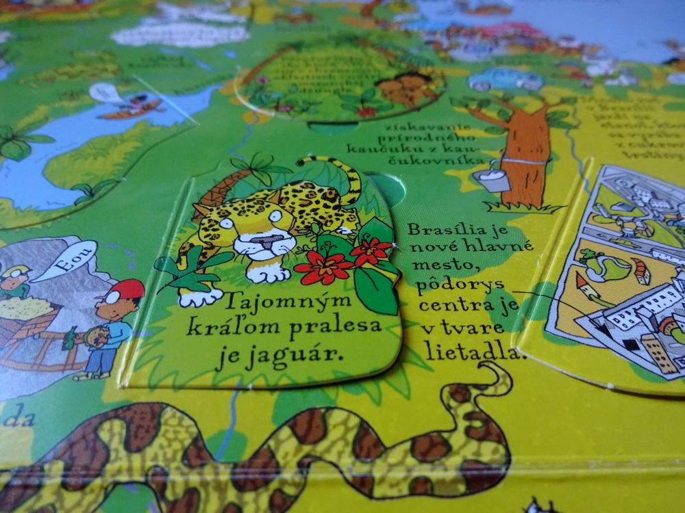 otváracie okienka atlas pre deti