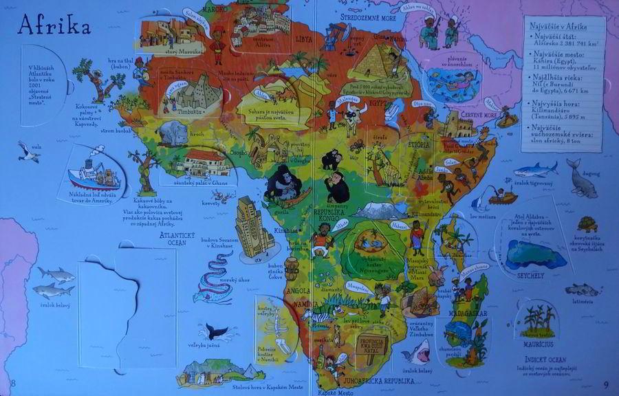atlas sveta škôlkári