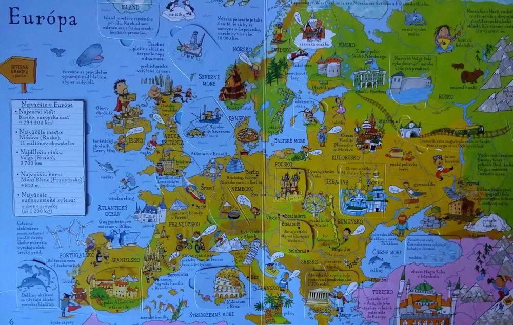 Obrazový atlas sveta pre deti