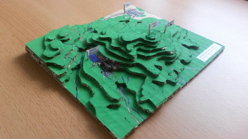 Geografické aktivity naletnom tábore