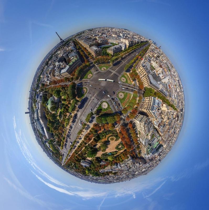 Svetové mestá akosamostatné planéty