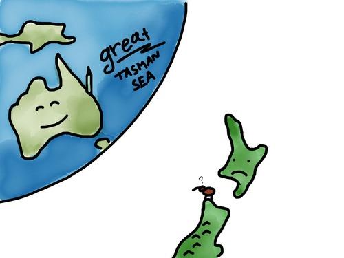 Svet bezNového Zélandu