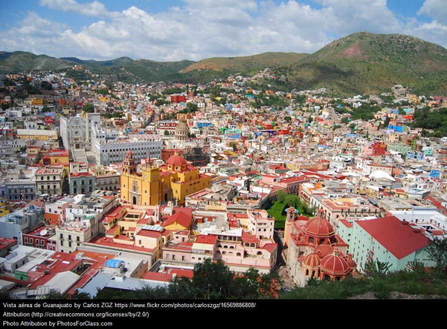 Guanajuato –mexická Banská Štiavnica