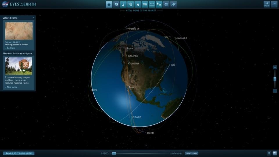 NASA aplikácia