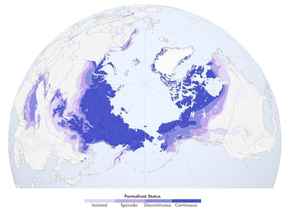 Permafrost –časovaná bomba klimatických zmien