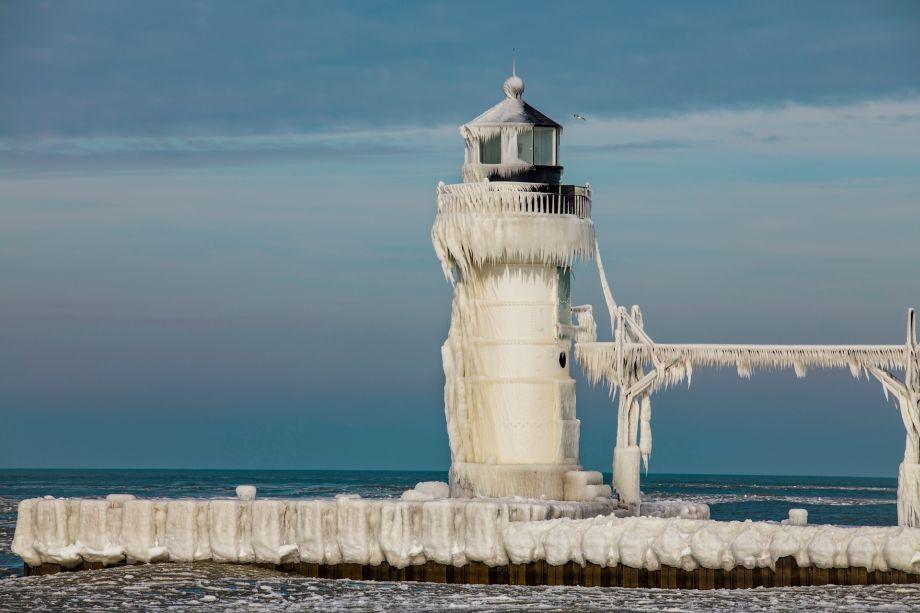 Zamrznutí strážcovia Michiganského jazera