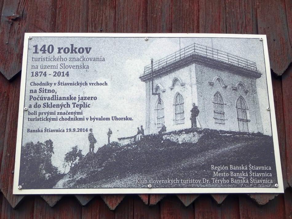 Sitno, kolíska slovenskej turistiky