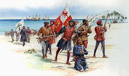 Španieli v Amerike