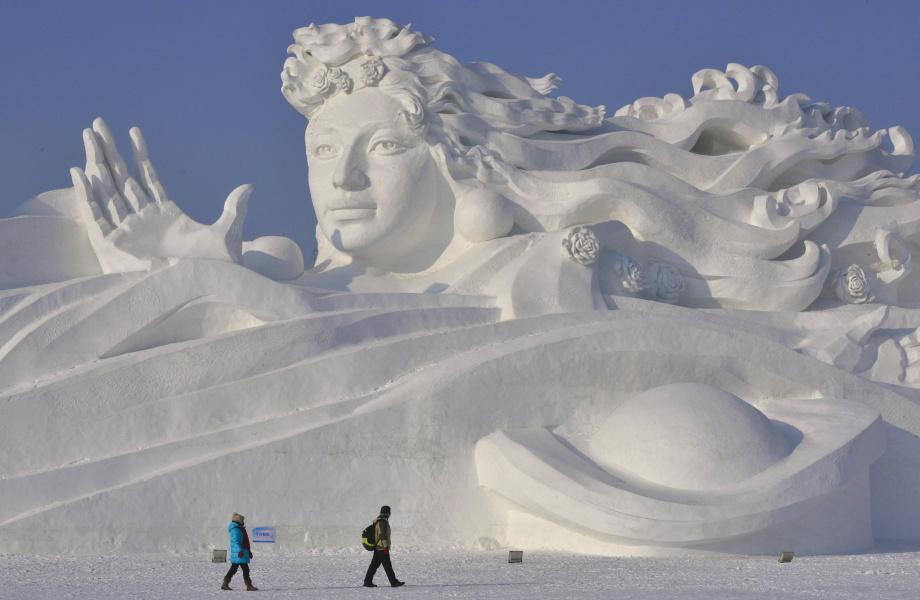 Vstúpte doľadového sveta čínskeho mesta Harbin