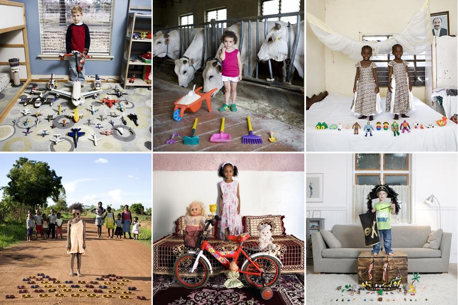deti vo svete a ich hračky