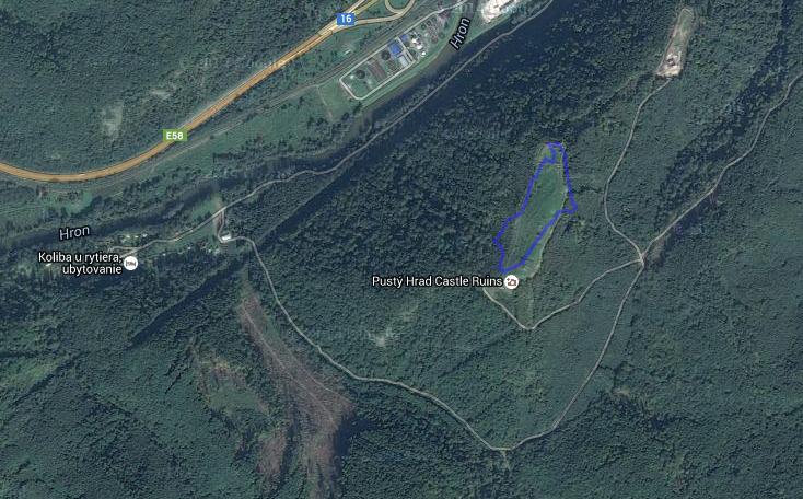 porovnávanie veľkostí rozlohy Google Earth