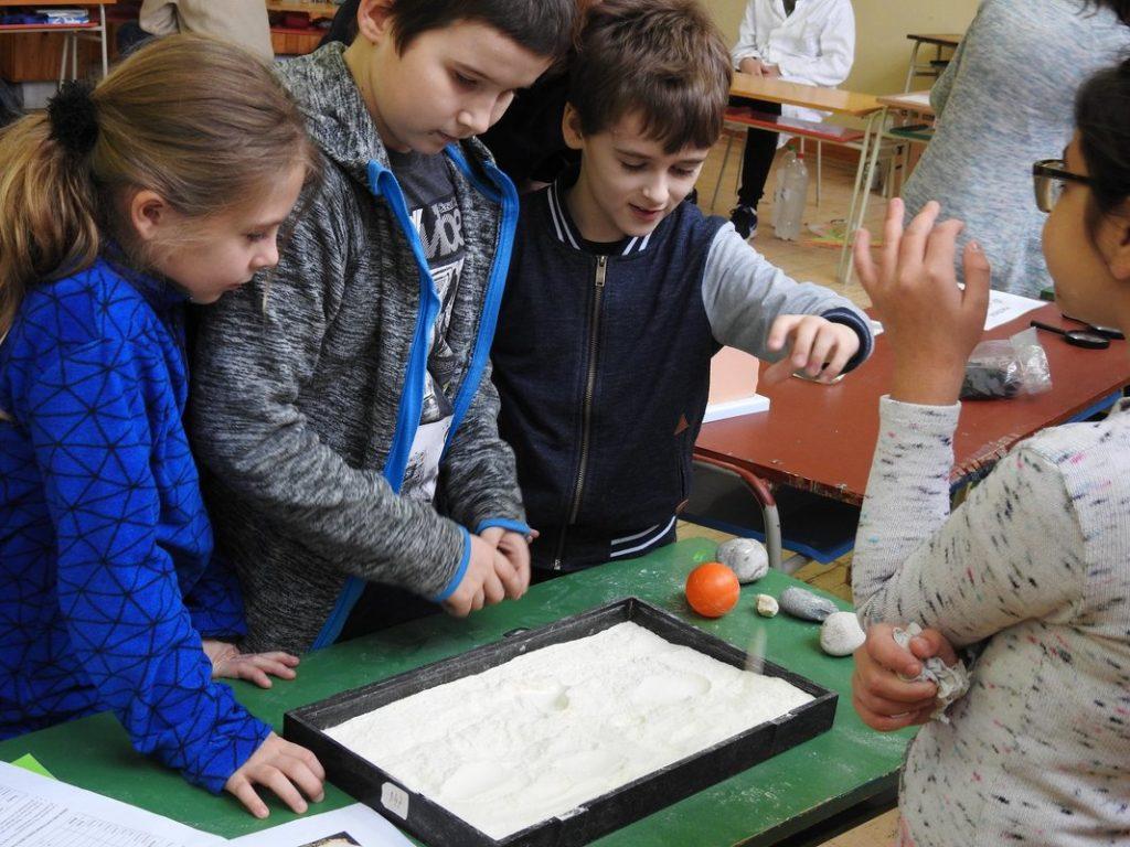 geografia experiment škola