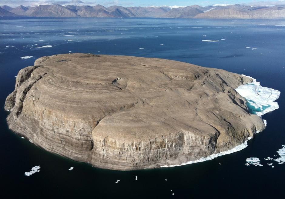 Arktický ostrov afľašová vojna Dánska sKanadou