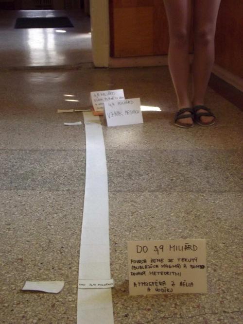 zážitkové učenie rolka papiera