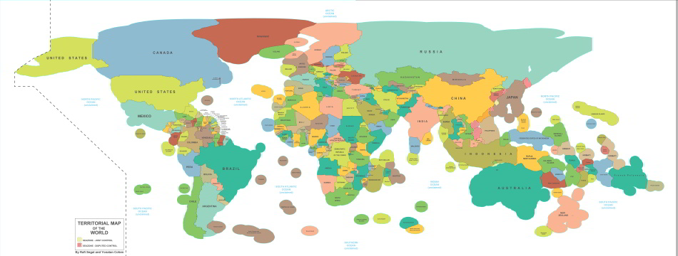 Teritoriálne vody štátov sveta