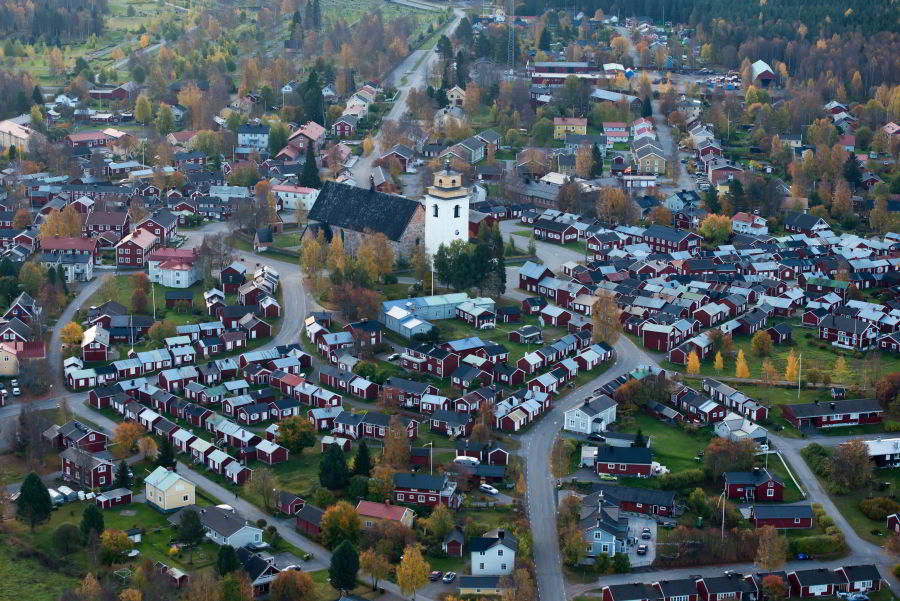 Kostolné mesto Gammelstad