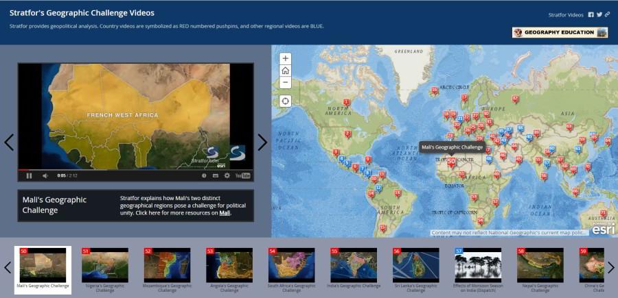 Geografické výzvy štátov podľa Statfor Intelligence