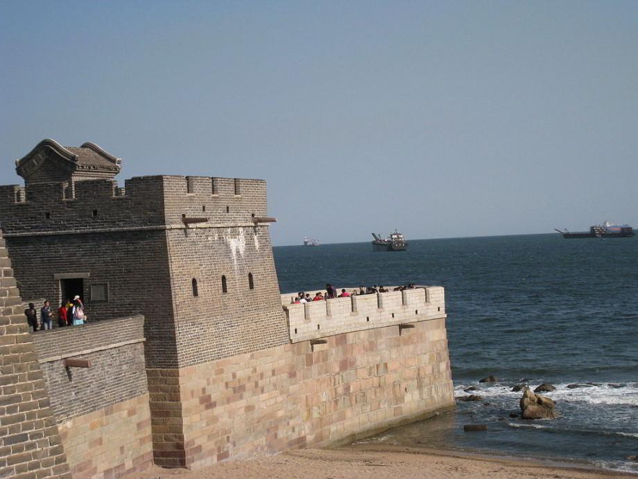 Tam, kde sa Veľký čínsky múr dotýka mora