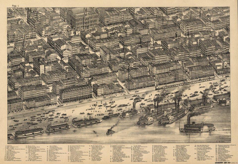 Panoramatické mapy miest predletectvom asnímkovaním