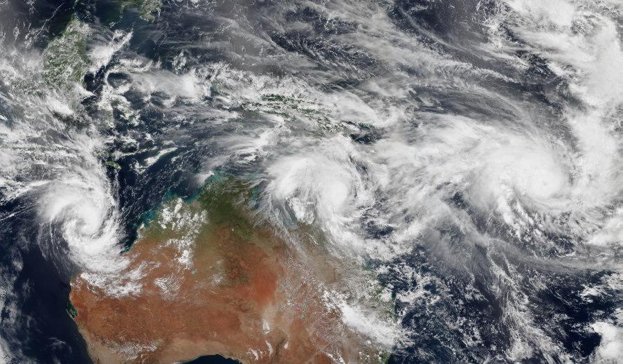 Cyklóny zasiahli Austráliu aOceániu, naVanuatu zabíjal cyklón Pam