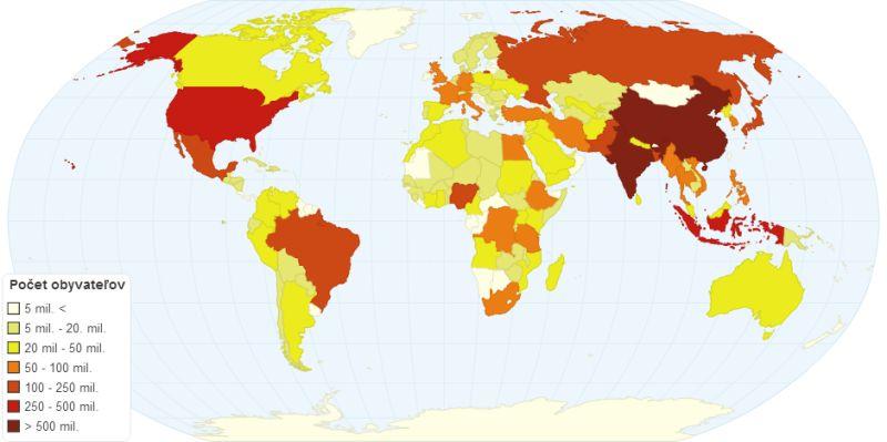 ChartsBin tvorba tematickej mapy