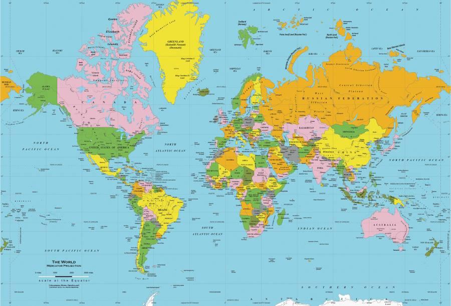 Neverte mapám sveta. Kartografické zobrazenia, ktoré môžu mýliť