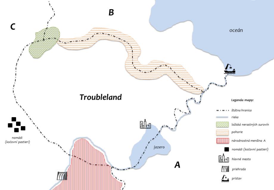 nerastné suroviny geografia cvičenie
