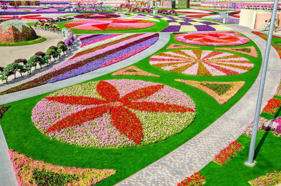 Dubai Miracle Garden –akopremeniť púšť nakvetinovú záhradu