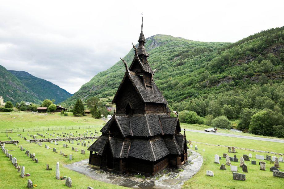 Drevené kostoly Nórska sú akovýlet dosveta fantasy