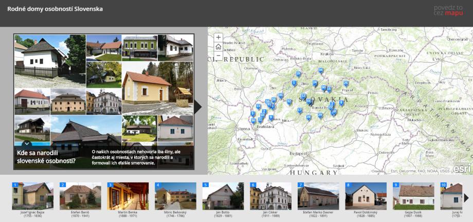 Kde sa narodili slovenské osobnosti? Pozrite si mapu ich rodných domov