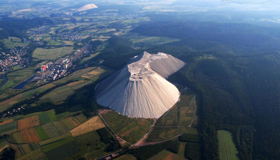 Nemecká soľná hora Monte Kali