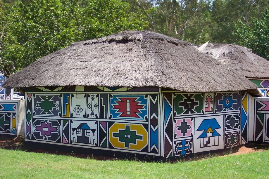 Jednofarebné domy? Ľudia etnika Ndebele tovidia inak