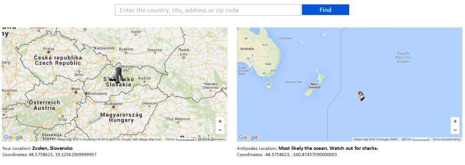 Kam by sme sa prekopali? Pozrite si mapu protinožcov