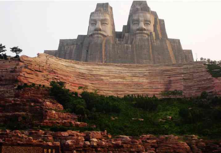 obrie sochy Čína