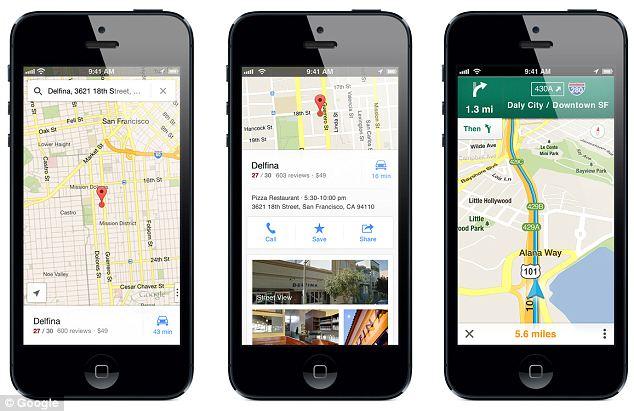 Google Mapy v škole