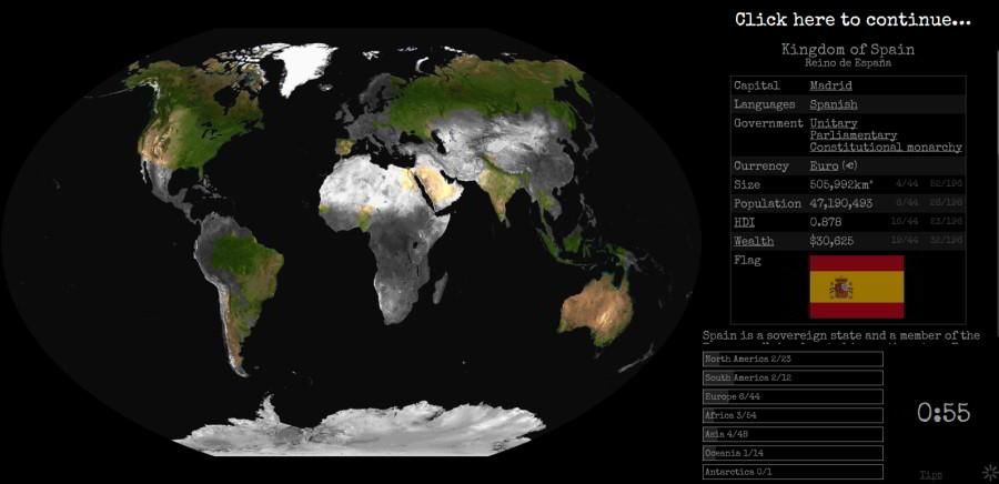 originálna mapová hra geografia