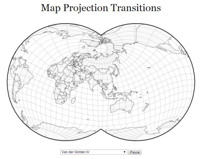 mapové zobrazenia