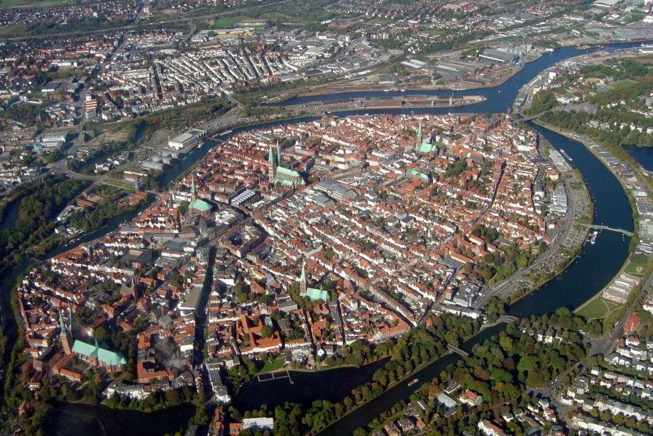Nemecké mesto Lübeck očaruje polohou ajpamiatkami