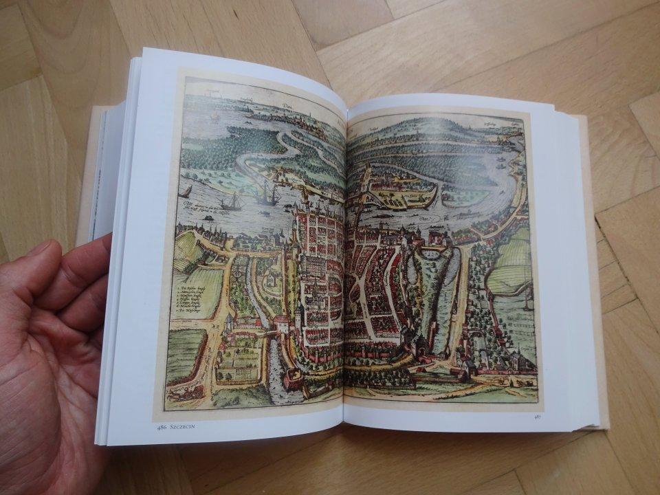 historická mapa Štetín
