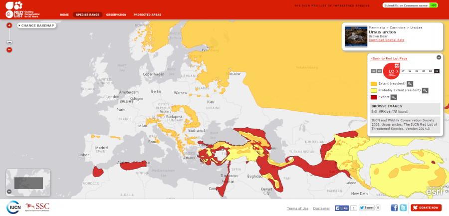 Kde žijú ohrozené druhy?