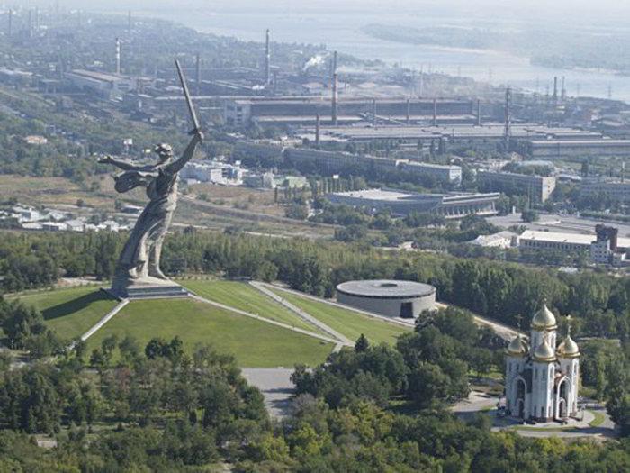 Volgograd socha