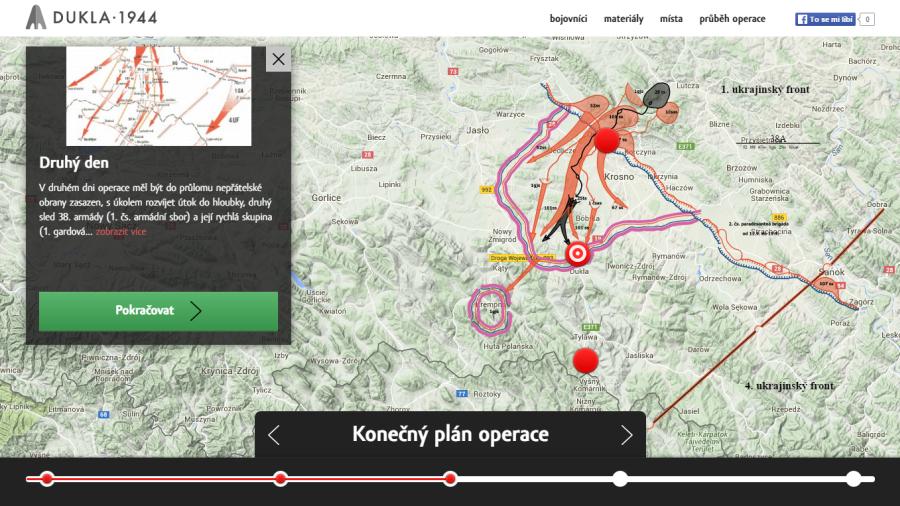 Karpatsko-duklianska operácia vmultimediálnej prezentácii