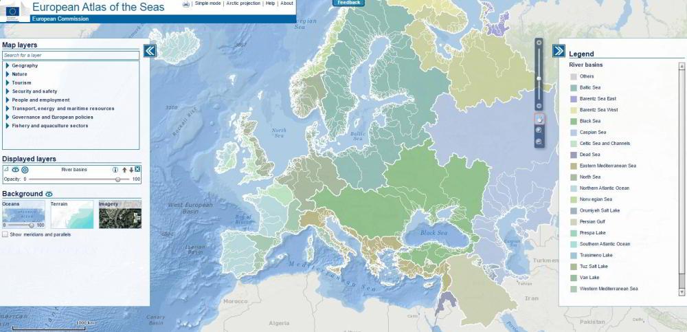 Atlas vodstva Európy