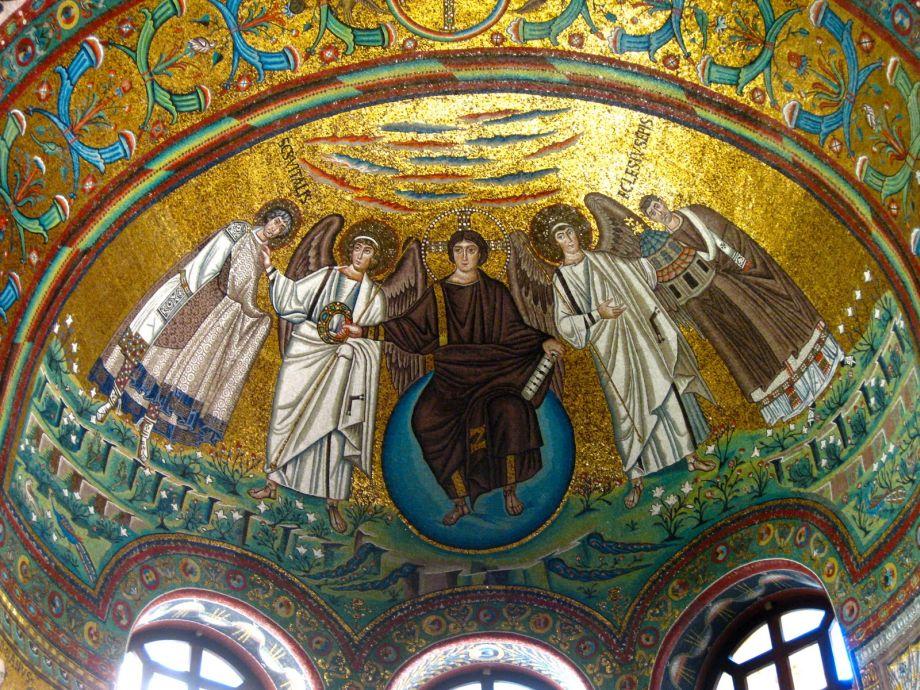 Mozaikový klenot Ravenna