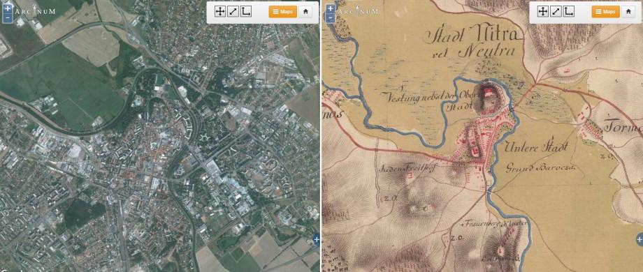 mapire.eu historický atlas Rakúsko-Uhorska