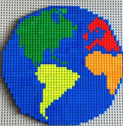 mapa Lego