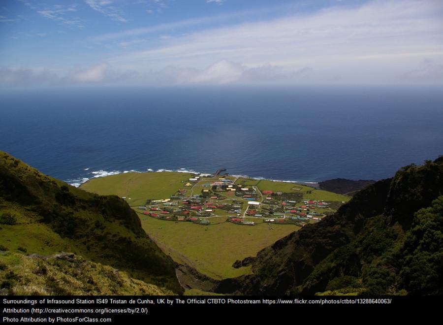 najizolovanejšie miesto na Zemi Tristan da Cunha