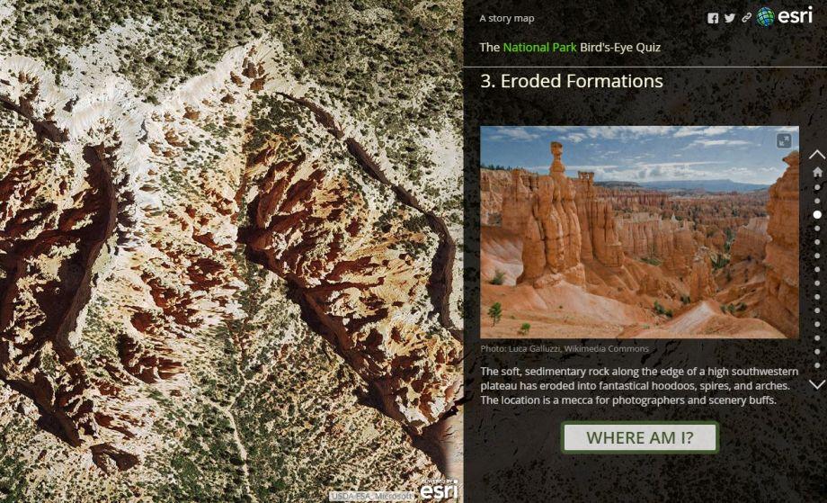 Pozrite si netradičný mapový kvíz svyužitím Story Maps