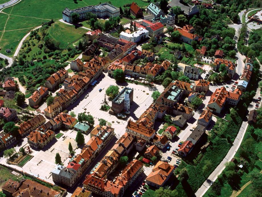 krásne mestá Poľska